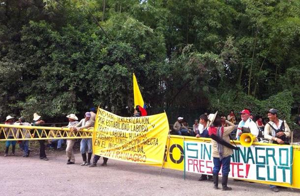 Corteros del Ingenio Risaralda declaran huelga