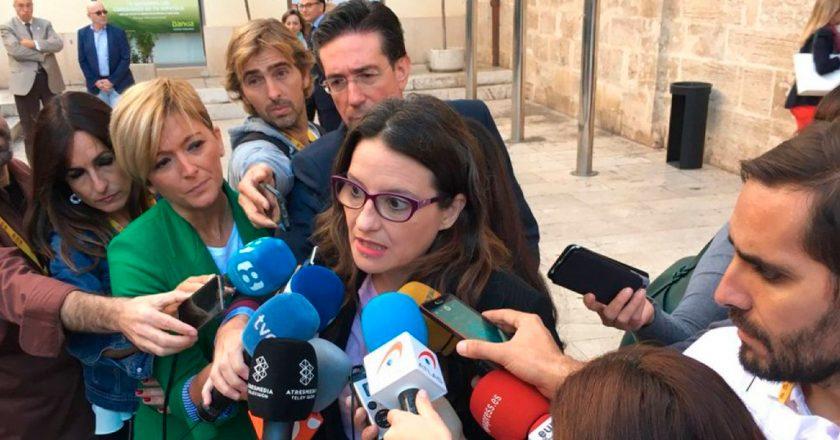 La vergonzante concentración de un grupo de fascistas ante el domicilio de Mónica Oltra, vicepresidenta del gobierno de Valencia, este jueves 19, debe preocupar a todos y exigir una reacción contundente por parte del Estado democrático contra estos facinerosos.